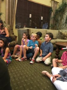 photo kids Community Shabbat in the Canyons, Sharing Shabbat With Your Community